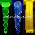 пластиковые optial волокна led волоконно-оптических люстра магазин привело света с хрустальные шары пмма украшения