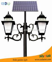 European quality 3.5m 10w LED Solar garden lighting