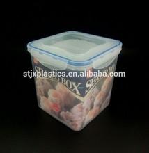 vacuum transparent plastic food box