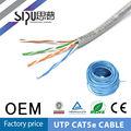 sipu mejor precio de fábrica de lan utp cable de red cat5e