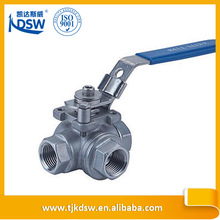 Manufacturer stainless steel type gear operated ball valve