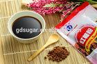 100% Natural raw brown sugar for tea or coffee