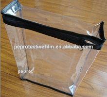 PVC Plastic Zipper Bag With Zipper
