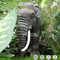 tamaño de la vida animatronic elefante