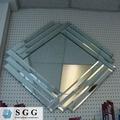 عالية الجودة الداخلية المزخرفة زجاج المرايا