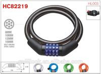 Colorful Bicycle Lock,Bike Lock,Combination Lock HC82219