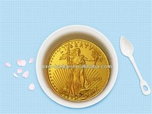 1oz/33.93 g American gold eagle coin from China