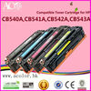 China Supplier OEM CB540A Toner Compatible for HP CP1215 Cp1515 Cp1518 Premium Laser Printer Toner Cartridge