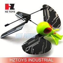 2ch remote sensing flying alien toy,mini aeroplane