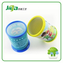Hot sell 2014 Hard cover recycled cheap plastic brush pot