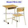 Wooden middle school desk and chair FM-A-302