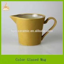 12oz ceramic color glazed stoneware coffee mug drinkware milk tea mug
