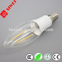 2014 Most cost-effective 4w led filament buld E27/B22 LED bulb lamp