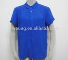 Hot sale loose high quality blouse women shirt model