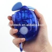 Shenzhen manufauturer produce pocket handheld outdoor water spray fan
