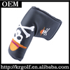 Wholesale Human Skeleton Design Synthetic Leather Golf Putter Head Cover