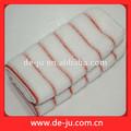 promoção casa têxtil vermelho tira macia materiais descartáveis toalhas de salão de beleza