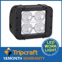 40w 4.6''Spot Flood Combo Led Light Bar Offroad lights LED Spot Fire Truck/Bus/Boat LED Bull Bar Light