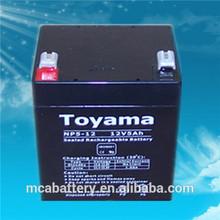 12V5Ah Good rechargeable battery sealed lead acid battery