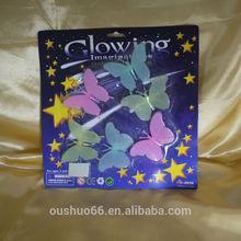 2014 hot selling Imagination glow in the dark stars/glowing sticker