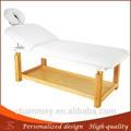 madera mesa de belleza cama de madera faciales para la venta del grupo médico cama facial