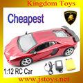 El más barato! 1/12 gran escala rc coche de control remoto, coche de carreras, coche del rc