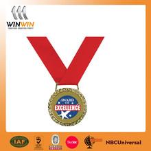 metal award medal bronze plated