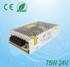 75w 110v ac to 24v dc power supply dc switching power supply