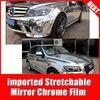 high Stretchable TSAUTOP chrome film for car\mirror effect sticker Silver