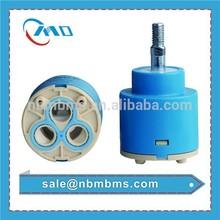 High Quality 35mm Stainless Steel Flat Basin / Bath / Shower Joystick Faucet Ceramic Cartridge