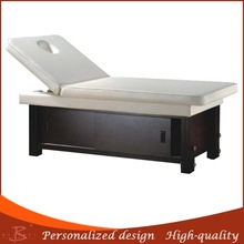 wood beauty bed height adjustable pillow facial table health massager bed