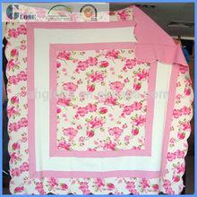 Children cotton patchwork quilt made in China