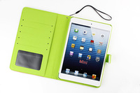New arrive luxury stand flip leather case for iPad Mini 2