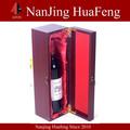 novo design atacado luxo vinho caixas de madeira