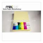 100% original pulp copy paper color
