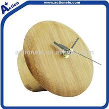 Mushroom Shape Bamboo Clock for Wall and Table