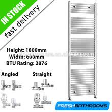 1000*500 chrome dual use flat ladder towel rail