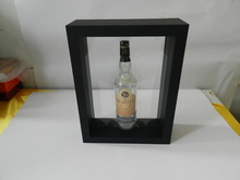 New transparent silicon film display case for wine bottle