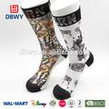 Diseño personalizado sublimación digtal calcetines en venta caliente!