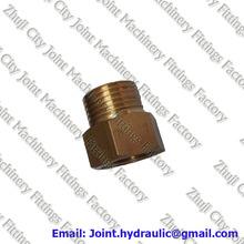 BSPT Male/Female Reducing Nipple Straight Plumbing Brass Adapter