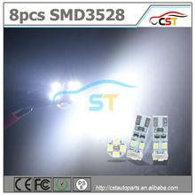 Nuovo arrivo canbus t10 3.528 8 led smd luce importazione