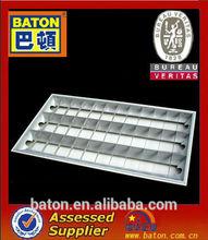 Louver fitting / Troffer light fixture 3x40w/3x36w fluorescent light
