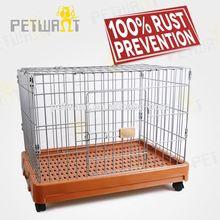 Durable modeling dog transport cage