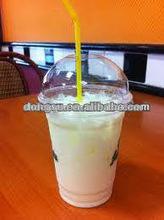 Best supplier! 5oz Clear PET disposable plastic cups, customized logo
