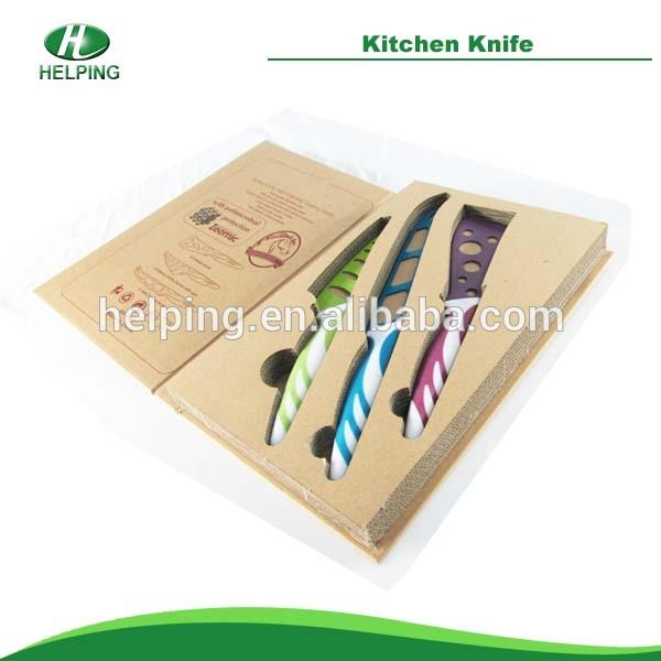 High quality non-stick knife kitchen knife color knife set kitchenware