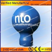 2012 hot selling inflatable santa claus balloon
