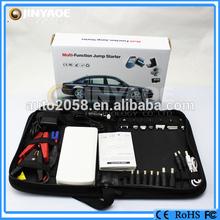 Universal Slim Mili Car Battery Power Bank For Mobile Phones New design jump start power bank/pocket jump starter multi purpose