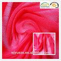 tejido de punto de lycra tramo de tela de tul