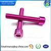 Hex socket cap aluminum screws,screws china supplier