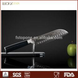 VG10 damascus santoku chef knife Japanese deba knife